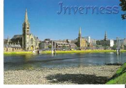 River Ness, Inverness, Highland, Scotland - Inverness-shire