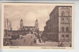 5000 KÖLN, Aufgang Zur Hohenzollernbrücke, Strassenbahn - Tram - Koeln