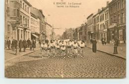 BINCHE  - Le Carnaval, Société Les Arlequins. - Binche