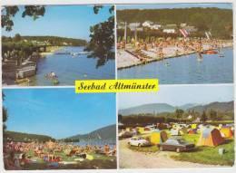 Altmünster Am Traunsee: CAMPING, FORD TAUNUS P5, VW KÄFER/COX, OPEL KADETT-B & P1, TENTES/CARAVANS - Auto/Car-Austria - Turismo