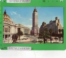 PALACIO DE BELLAS ARTES Y LA TORRE LATINO AMERICANA MEXICO - Messico