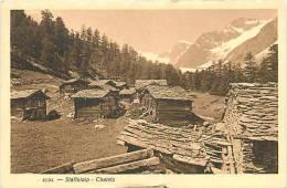Mars13 169 : Staffelalp  -  Chalets  -  Zermatt - VS Valais