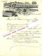 Brief 1904 - BUCHHOLZ - PREUSS & MORGENSTERN - Kunstprägerei Buchholz - Non Classés