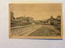 CARTOLINA FIUMANA (asilo Chiesa E Ponte Nuovo) VIAGGIATA PRIMI '900 OTTIMO STATO - Forlì