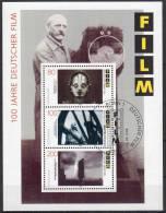 1995,  Centenaire Du Film Allemand,  Y&T Bloc No. 32, Oblitéré, Lot 38446 - [7] République Fédérale