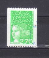 N° 3100  Oblitéré  Non Dentelé Verticalement - 1997-04 Marianne Du 14 Juillet