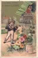 Chromo Compagnie Liebig-Histoires D´amour-Quatrième Période 1883-1887-Aubade  TTB - Liebig