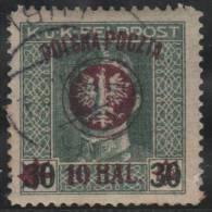 POLONIA 1919 - Yvert #101a - VFU (sobrecarga Violeta) - ....-1919 Gobierno Provisional