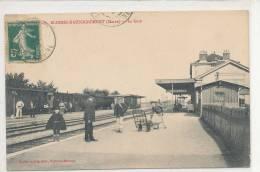 BLESMES HAUSSIGNEMONT La Gare Animée - Autres Communes