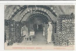BOUZY Champagne Ed Barnaut - Une Galerie Des Caves - Animée - Autres Communes