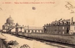 51 - REIMS -   Dispensaire De La Croix Rouge - Rue De Louvois - Reims
