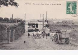 Louvres - Route De La Gare Et Pont Du Chemin De Fer [10410L95] - Enghien Les Bains