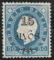 PORTUGAL/TIMOR 1903 - Yvert #85 - * MLH - Timor