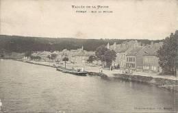 Vallée De La Meuse - FUMAY : Rue Du Rivage - TRES RARE CPA - Cachet De La Poste 1906 - France