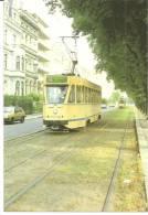 Transports Intercommunaux De Bruxelles 1987-18 -  Motrice 7124 Avenue De Tervuren - - Strassenbahnen