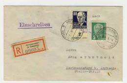 DDR Michel No. 339 b gestempelt used auf Brief / au�er Kurs gestempelt