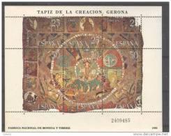 ES2591-LB005TOR. Spain.Espagne.TAPIZ DE LA CREACION.GERONA.1980. (Ed 2591**)sin Charnela.LUJO - Religión & Esoterismo