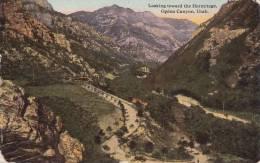 Cp , ÉTATS-UNIS , OGDEN , Canyon , Looking Toward The Hermitage - Ogden