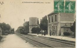 Savigny En Septaine 14 La Gare Train  EMB - France