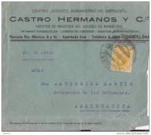 ESCA271-LC224TPUO.CARTA DE BARCELONA A PIEDRAHITA(Avila).¿1911?. (Ed 271).MUY BONITA - Publicidad