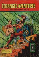 ETRANGES AVENTURES N° 56 BE AREDIT 10-1977 COMICS POCKET - Etrange Aventure