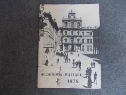 3580-CALENDARIO-ACCADEMIA MILITARE-1978 - Calendari