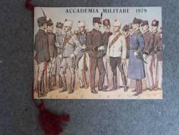 3581-CALENDARIO-ACCADEMIA MILITARE-1979 - Calendari