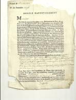 Montivilliers : Document 1768 - Manuscrits