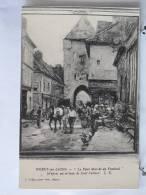 Carte Pas Très Courante - 77 - Moret Sur Loing - Le Petit Marché Du Vendredi  - Karl Cartier - Neuve - Scan Recto-verso - Moret Sur Loing
