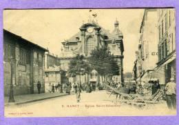 NANCY église Saint-Sébastien  ( Peu Courante ) - Nancy