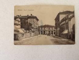 CARTOLINA ARONA VIA F.CAVALLOTTI NON VIAGGIATA DEL 1907 DISCRETE CONDIZIONI - Novara