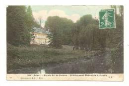 Cp, 94, Orly, Façade Est Du Château, Etablissement Médical Du Dr Plouffle,voyagée 1916 - Orly