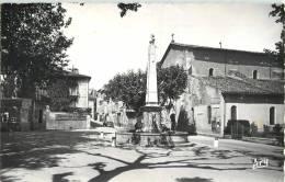 AUPS FONTAINE MONUMENTALE L'EGLISE VAR 83 - Aups