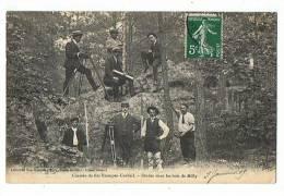 91 - 133  MILLY  Etudes Dans Les Bois, Chemin De Fer ETAMPES CORBEIL - Milly La Foret