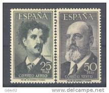 ES1164-L3677.Aereo.. Spain.Espagne.FORTUNY  Y T. QUEVEDO.1955/6 (Ed 1164/51**) Sin Charnela - 1951-60 Nuevos & Fijasellos