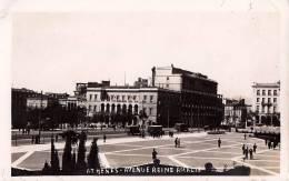 ATHÈNES : AVENUE REINE AMELIE - CARTE ´VRAIE PHOTO´ - ANNÉE ~ 1930 - ´35 (n-796) - Grèce