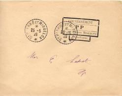 ST PIERRE ET MIQUELON LETTRE EN PORT PAYE 1926 - Sin Clasificación