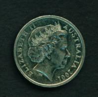 AUSTRALIA - 2001 10c Circ - Decimal Coinage (1966-...)