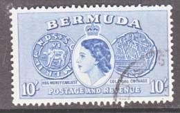Bermuda 161  (o)    COIN - Bermuda