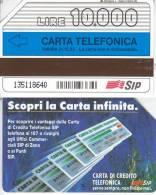 GOLDEN 123 CARTA INFINITA  10.000 10000 Usata II Scelta - Public Ordinary