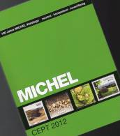 MlCHEL Katalog CEPT 2012 Neu 50€ Briefmarken Mit Jahrgangs-Tabelle Europa Vorläufer NATO EFTA KSZE Symphatie-Ausgaben - Catalogues