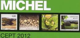 Stamps Katalog MlCHEL CEPT 2012 Neu 50€ Briefmarken Jahrgangs-Tabelle Europa Vorläufer NATO EFTA KSZE Symphatie-Ausgaben - Vatican