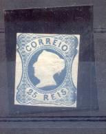 PORTUGAL AÑO 1853 DOÑA MARIA II TETE EN RELIEF GRAVES YVERT NR. 2 - 1853 : D.Maria