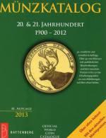 Coins Welt-Münzkatalog 2013 New 50€ Münzen 20./21.Jahrhundert A-Z Battenberg Verlag Europa Amerika Afrika Asien Ozeanien - Books