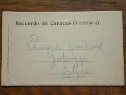 Recuerda De CARACAS / Carnet 6 Pictures ( Venezuela ) / Anno 19?? ( Format 14 X 8,5 Cm. / Zie Foto´s Voor Details ) !! - Venezuela