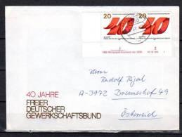 DDR  Brief  Mit  2951 DV  ( Druckvermerk ) - DDR
