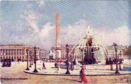 PARIS - Place De Le La Concorde   (53455) - Paintings