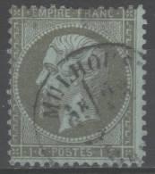 Napoléon III  N° 19 Avec Oblitération Cachet à Date, Voir Etat. - 1862 Napoléon III