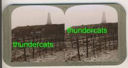 "IEPER YPRES "" AUSTRALIAN OBILISK ""  Superbe Stereoscope 1914-18  Voir Scan Tres Rare - Photos Stéréoscopiques"