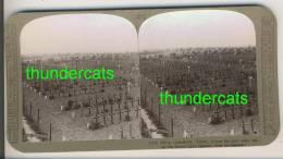 "IEPER YPRES "" IRISH FARM CEMETERY ""  Superbe Stereoscope 1914-18  Voir Scan Tres Rare - Photos Stéréoscopiques"